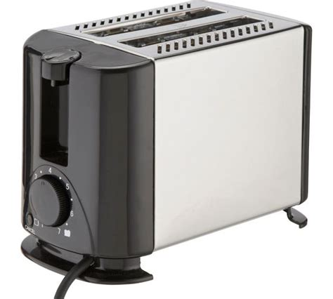 Toaster In Argos buy cookworks stainless steel 2 slice toaster at argos co uk your shop for toasters