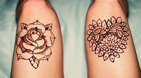henna style flower tattoos henna mehndi designs for and