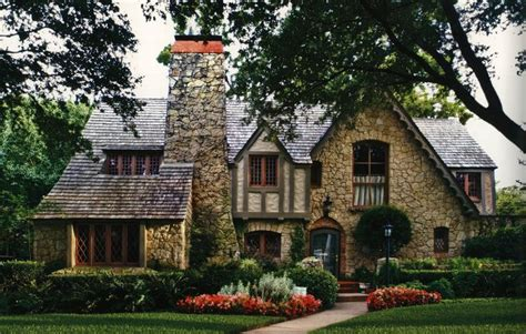 tudor style gorgeous stone and half timber tudor style home in dallas