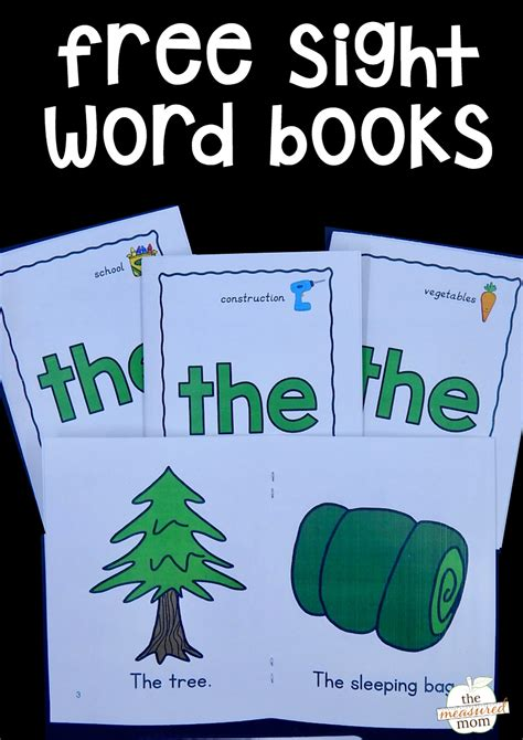 sights books free sight word books for the word quot the quot the measured