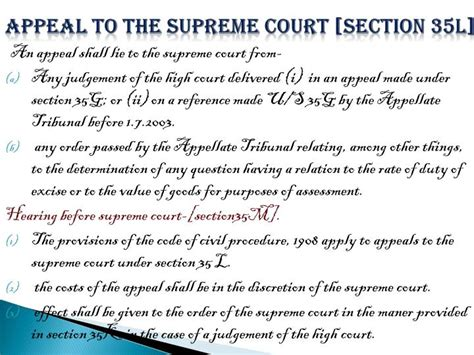 court section ppt appeals powerpoint presentation id 1896194