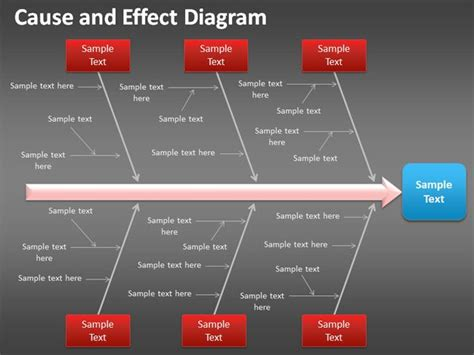design effect in powerpoint cause and effect diagram for powerpoint