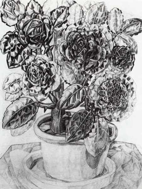 fiori russia fiori grafite di pavel filonov 1883 1941 russia