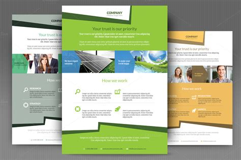 easy templates for flyers business flyer templates flyer templates on creative market