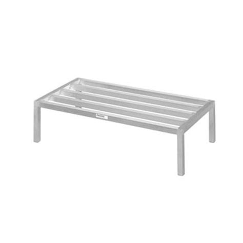 Aluminum Dunnage Rack by New Age 6015 48in X 24in Aluminum Dunnage Rack Etundra