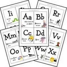 printable alphabet movement cards preschool handwriting worksheets 3 educating your kids