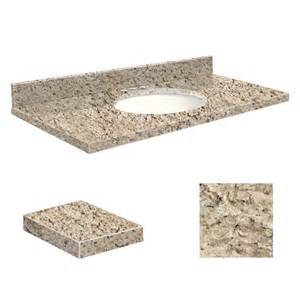 43 vanity top shop transolid giallo ornamental granite undermount single