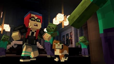 Minecraft Story Mode Episode 1 8 minecraft story mode episode 6 has a release date and additional cast members vg247