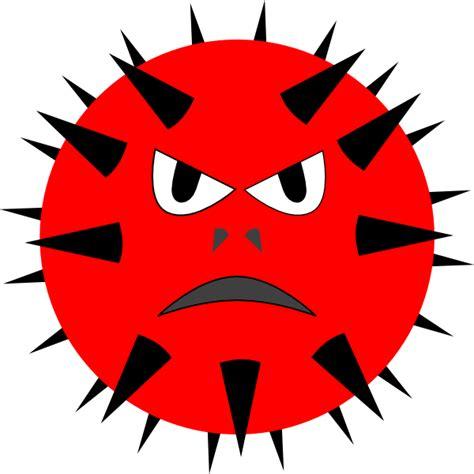 virus clipart evil virus clip at clker vector clip