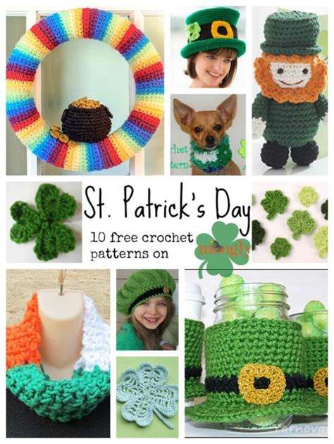 The Luck Of The Day 105 by 105 Best Crochet St Patricks Day Images On