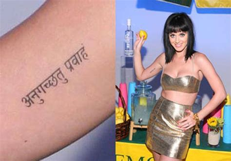 katy perry new tattoo 2015 how india influenced hollywood style icons