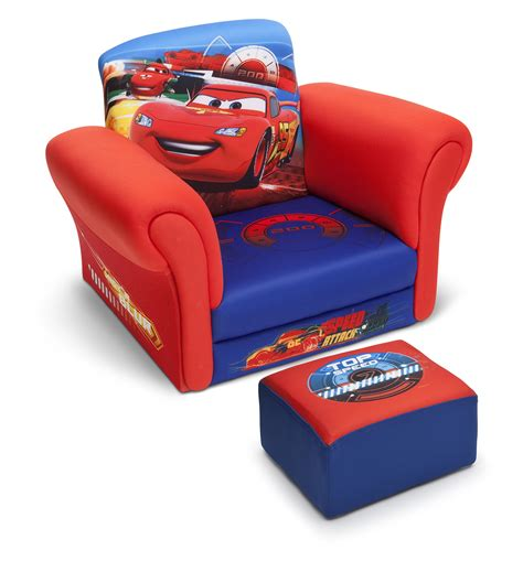 disney cars recliner delta upholstered chair kids children furniture toddler
