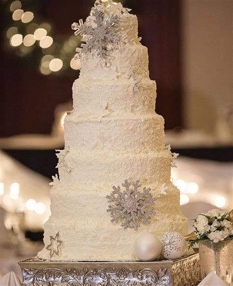 Wedding Ideas For Winter by 41 Adorable Winter Wedding Cake Ideas