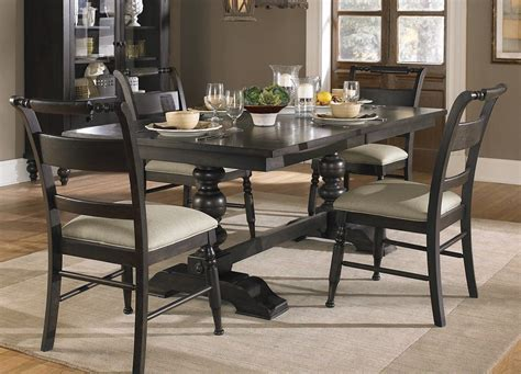 Black Wood Dining Room Set | dark wood dining room set marceladick com