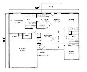 Basic Ranch Floor Plans basic simple ranch house floor plans trends home design images