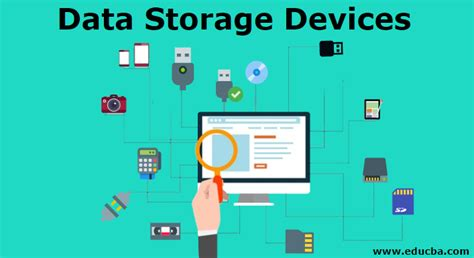 data storage devices learn  types  storage devices