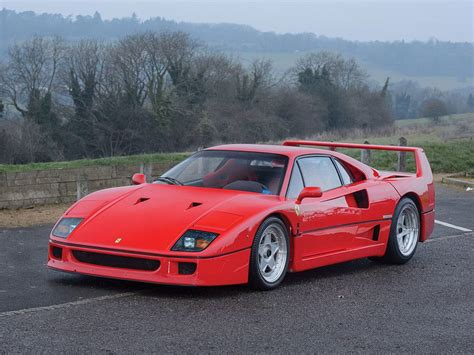 Ferrari F 40 by 1989 Ferrari F40 At Auction 1903124 Hemmings Motor News