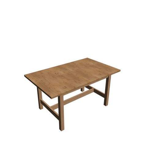 Norden Dining Table Norden Extendable Table Birch Design And Decorate Your Room In 3d