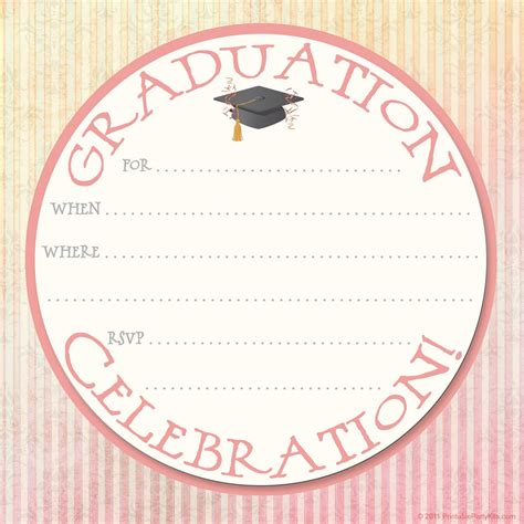 grad announcement template free graduation announcement templates