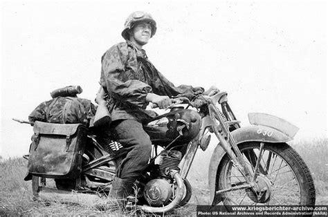 kradschuetzen truppen motorcycle troops wartime