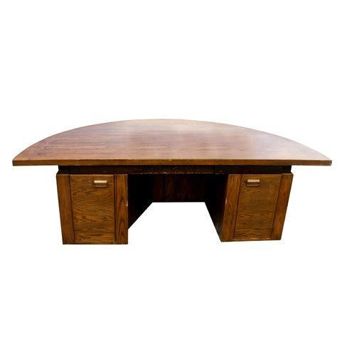 half office desk midcentury retro style modern architectural vintage