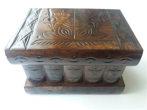 Handcrafted Hardwood Storage Puzzle Box - 25 best ideas about wooden puzzle box on