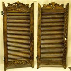 swinging doors for sale 19th century pair of swinging saloon doors