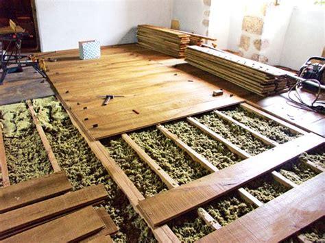 chape sèche sur plancher bois 1266 plancher trop souple 231 a grince attention au support