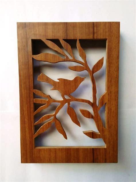 barang unik hiasan dinding 3d siluet motif kayu 003 jual hiasan dinding hiasan kaligrafi