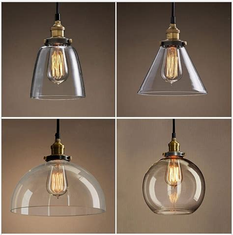 glass pendant light shades l shades for pendant lights images