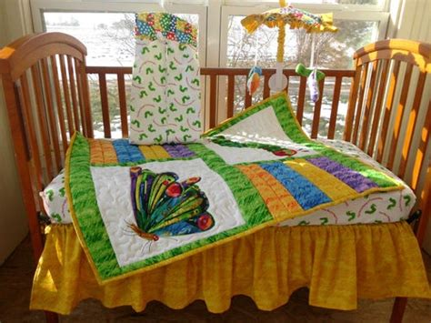 Pin By Mary Moyer On Very Hungry Caterpillar Pinterest Eric Carle Crib Bedding