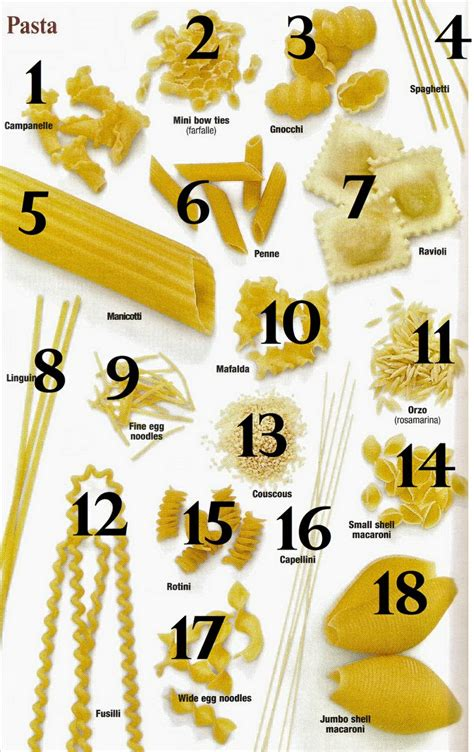 Pasta Sauce Ideas by 1000 Ideas About Pasta Types On Pinterest Pasta Shapes