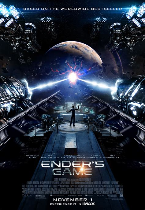 delaware s first and only imax theatre featuring a 70 ender s game images and imax poster ender s game stars