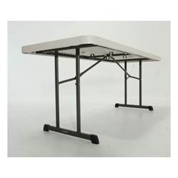 Lifetime 6ft Folding Table Lifetime 6 Ft Professional Grade Folding Table Almond 80249