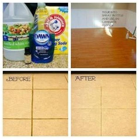 kitchen floor cleaner how to kill poison combine 1 gallon white vinegar with 1 cup salt and 2 tbsp blue dish