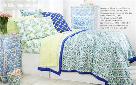 roberta roller rabbit s new bedding collection sings
