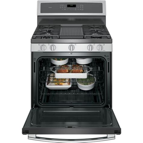 stove warming drawer pgb940sejss ge profile 30 quot free standing gas