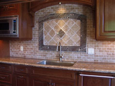 tumbled marble backsplash pictures and design ideas design notes kitchen makeover on a budget counters and tile