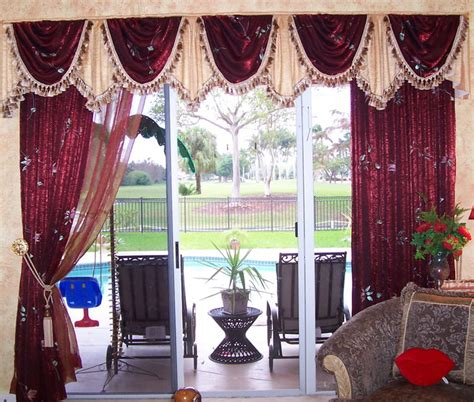 drapes and valance transitional miami by maria j window treatments and home d 233 cor traditional style window treatment mediterranean miami by maria j window treatments and