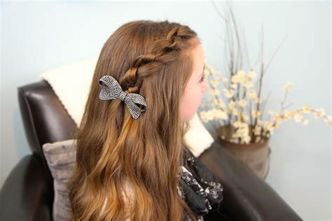 cute girl hairstyles knot knotted pullback easy hairstyles cute girls hairstyles