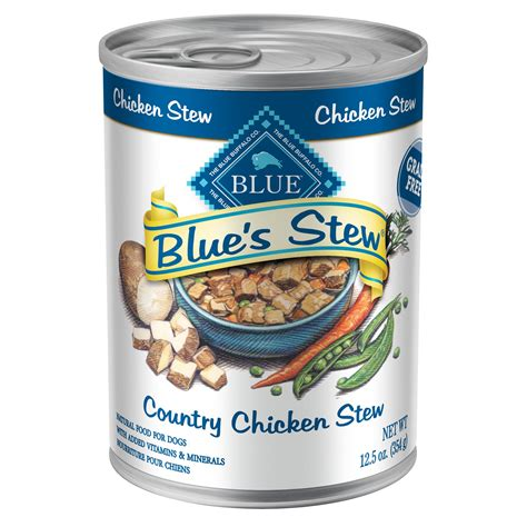 blue buffalo canned puppy food blue buffalo blue s stew country chicken stew canned food petco