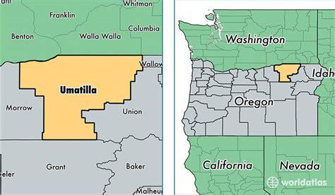 map of umatilla oregon umatilla county oregon map of umatilla county or