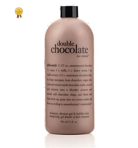 can shower gel be used as bath philosophy chocolate shower gel 32oz size new sealed ebay