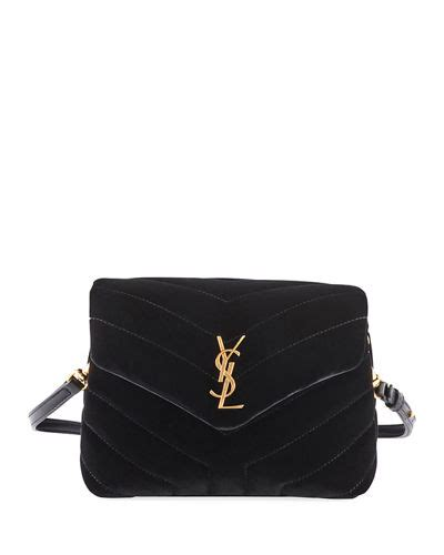 saint laurent loulou monogram ysl toy quilted velvet
