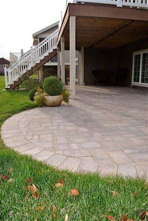 delightful Small Backyard Pavers Ideas #1: 5dc61f039fc409bf62d1af7c19f9f10f--patio-under-decks-backyard-patio.jpg