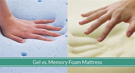 Which Is Better Or Foam Mattress - which is better gel or memory foam mattress