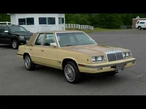 Chrysler Ct by Preowned 1985 Chrysler Lebaron Bristol Ct