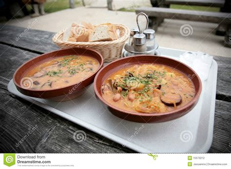 traditional bowl food traditional slovenian food stock photo image of bowl