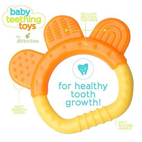 teething toys baby teething toys bpa free organic freezer safe teether set for 3 to 12