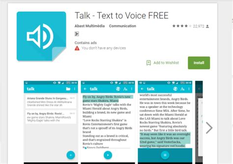 top 5 text to speech apps for your android